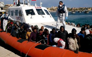 Migranti salvati in Mediterana